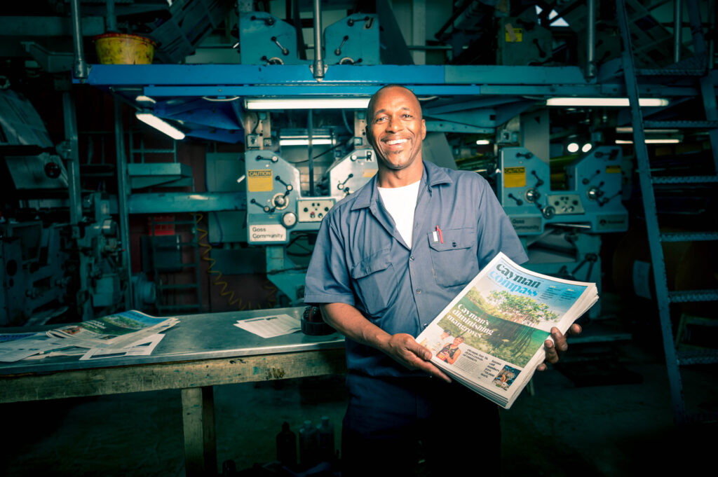 Printing in Cayman Islands