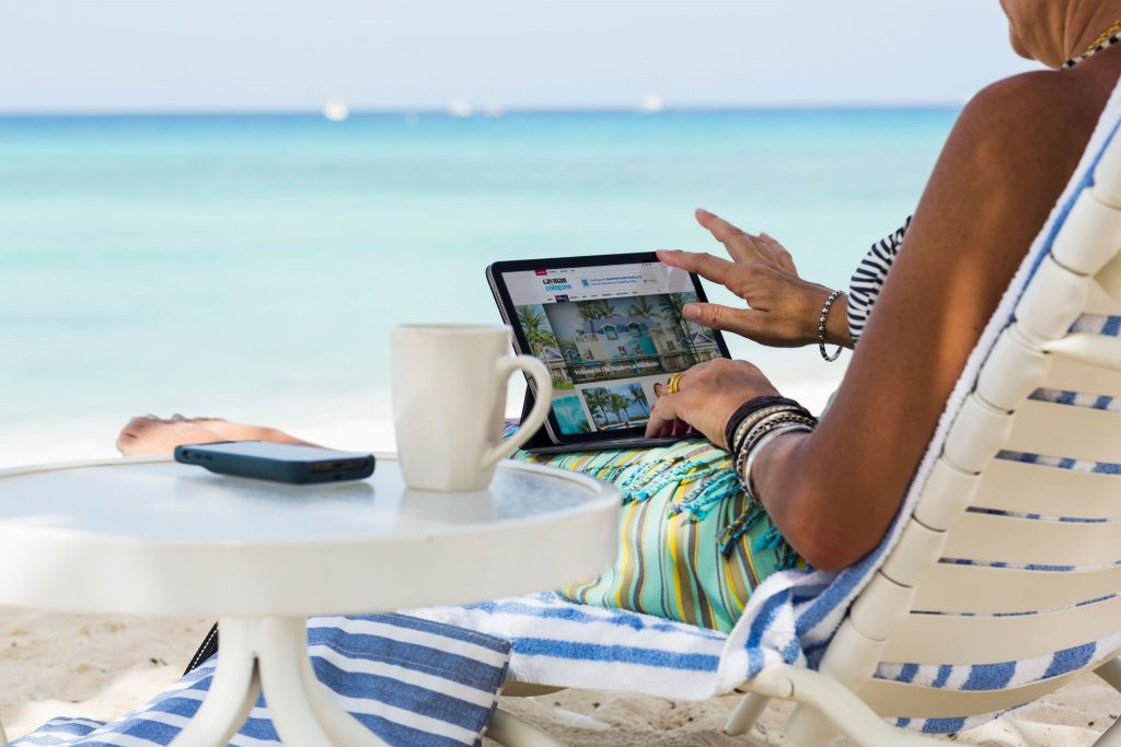 Compass Media is the leader in igital advertising in Cayman Islands